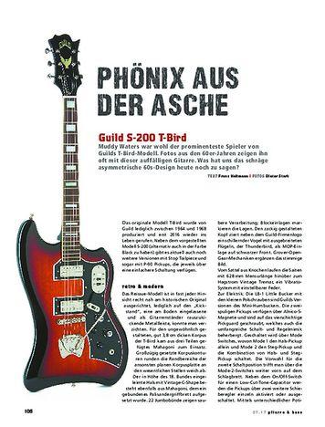 Gitarre & Bass Guild S-200 T-Bird