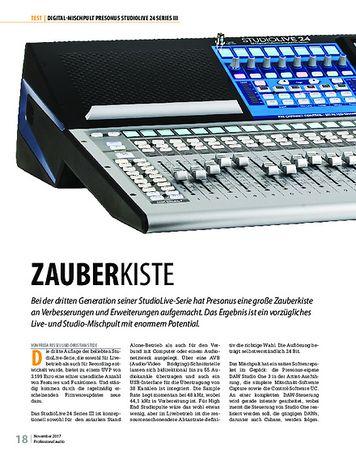 Professional Audio Presonus StudioLive 24 Series III