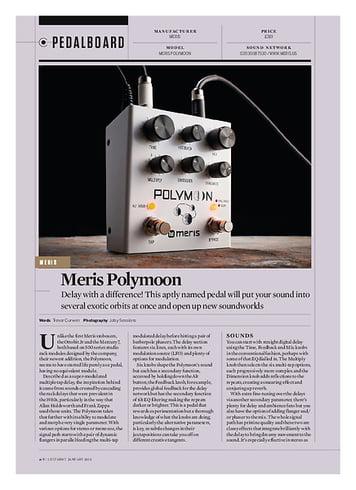 Guitarist Meris Polymoon