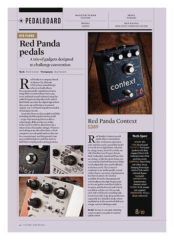 Guitarist Red Panda Context