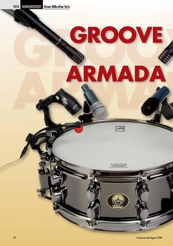 Professional Audio Groove Armada