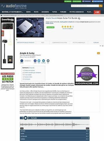 Audiofanzine.com Ample Sound Ample Guitar Full Bundle