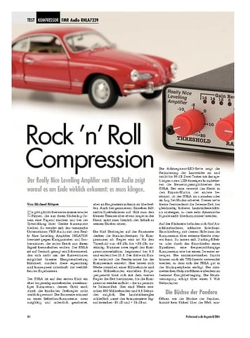 Professional Audio Rock 'n'Roll Compression: FMR Audio RNLA7239