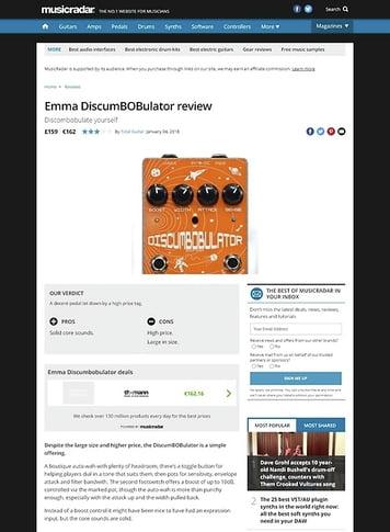 MusicRadar.com Emma DiscumBOBulator