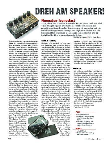 Gitarre & Bass Neunaber Iconoclast