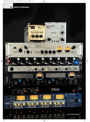 Professional Audio Lautstark - Mikrofonpreamps