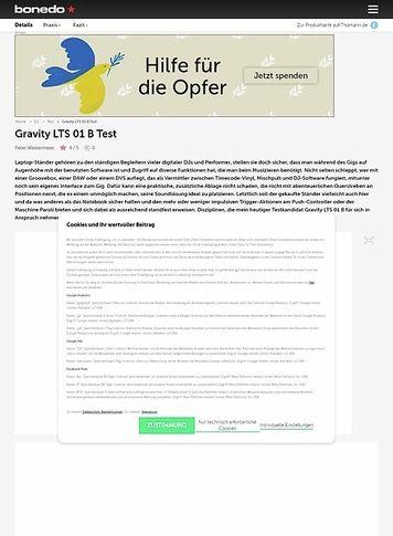Bonedo.de Gravity LTS 01 B