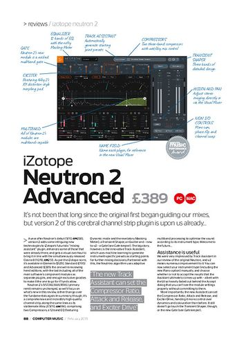 Computer Music iZotope Neutron 2 Advanced