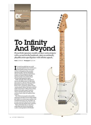 Guitarist Fender EOB Sustainer Stratocaster