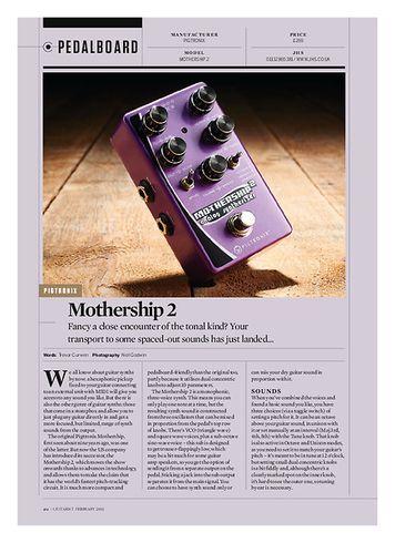 Guitarist Pigtronix Mothership 2