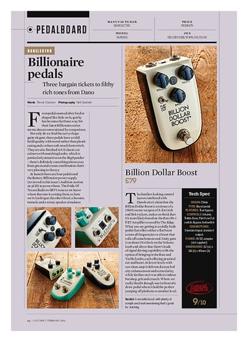 Guitarist Billion Dollar Boost