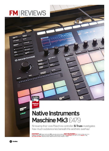 Future Music Native Instruments Maschine Mk3