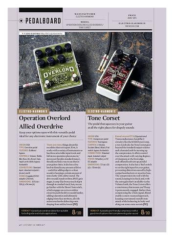 Guitarist Tone Corset