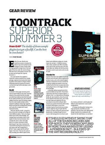 Rhythm Superior drummer 3