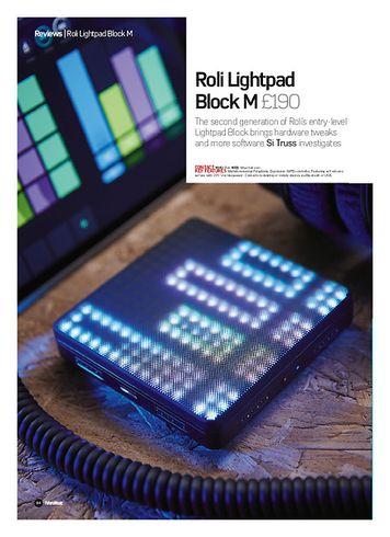 Future Music Roli Lightpad Block M