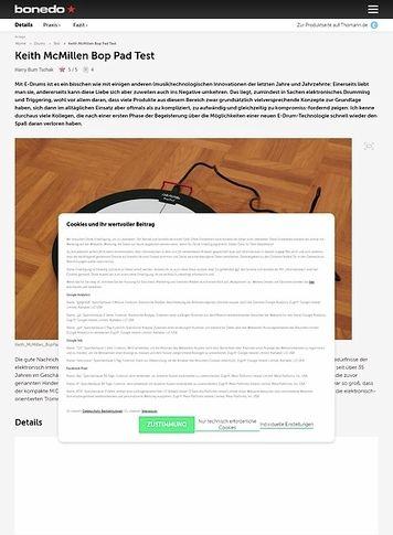 Bonedo.de Keith McMillen Bop Pad