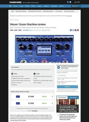 MusicRadar.com Mooer Ocean Machine