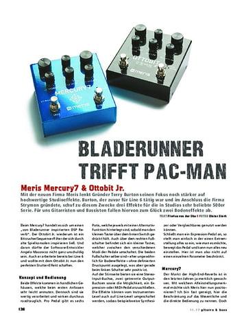 Gitarre & Bass Meris Mercury7 & Ottobit Jr.