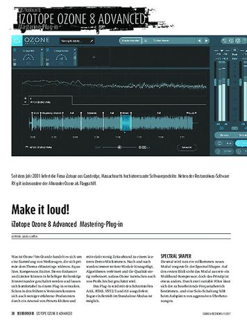 Sound & Recording iZotope Ozone 8 Advanced