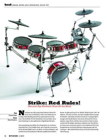 Sticks Alesis Strike Pro Electronic Drum Kit