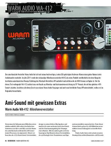 Sound & Recording Warm Audio WA-412