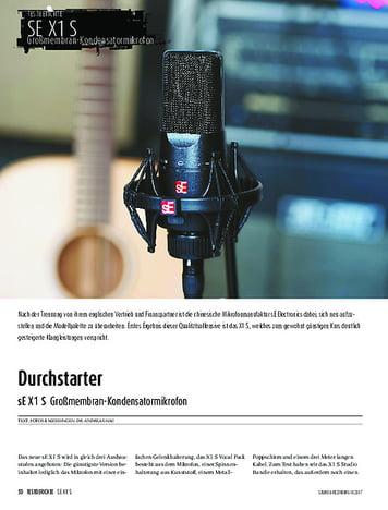 Sound & Recording sE X1 S
