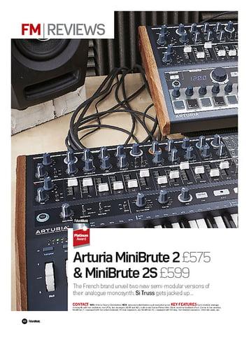 Future Music Arturia MiniBrute 2 & MiniBrute 2S