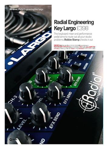 Future Music Radial Engineering Key Largo