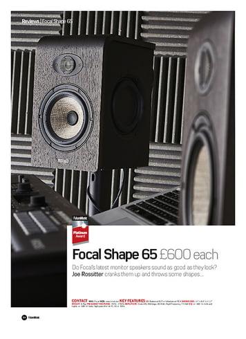 Future Music Focal Shape 65