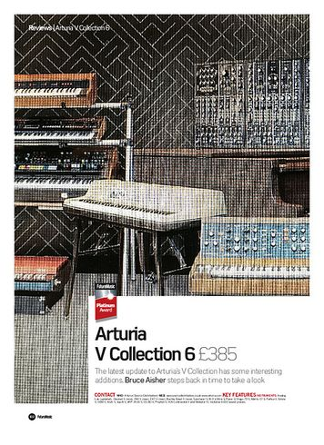 Future Music Arturia V Collection 6