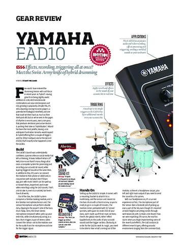 Rhythm Yamaha EAD10