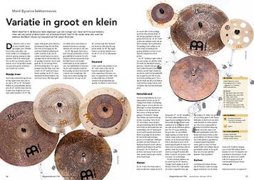 slagwerkkrant.nl Meinl Byzance