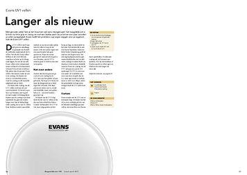 slagwerkkrant.nl Evans UV1