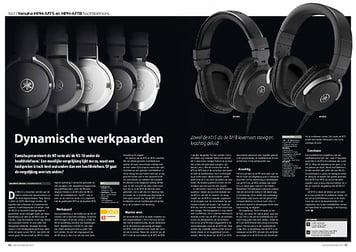 interface.nl Yamaha HPH-MT5 en HPH-MT8