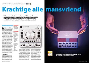 interface.nl Arturia AudioFuse usb-audio/midi-interface