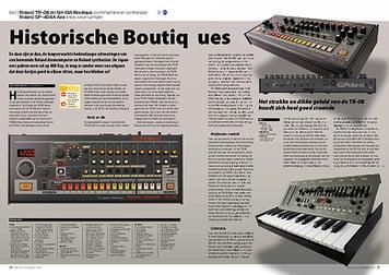 interface.nl Roland TR-08 en SH-01A & Roland SP-404A