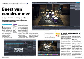interface.nl Toontrack Superior Drummer 3