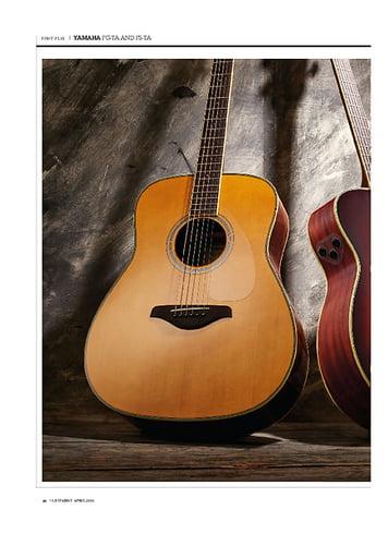 Guitarist Yamaha FS-TA