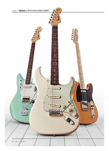 Guitarist Fender American Original 60S Stratocaster