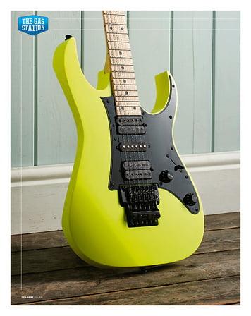 Total Guitar Ibanez RG550