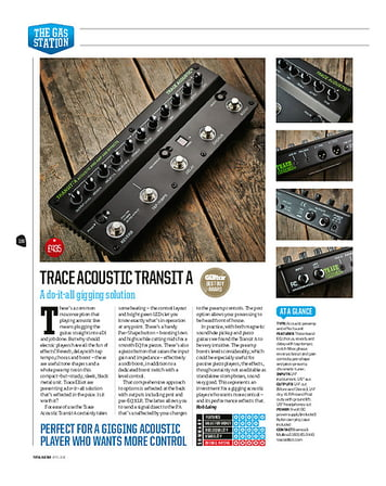 Total Guitar Trace Acoustic Transit A