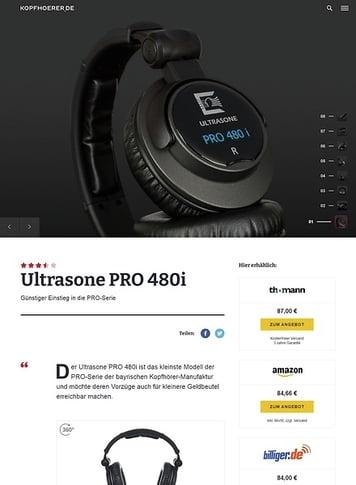 Kopfhoerer.de Ultrasone Pro-480i