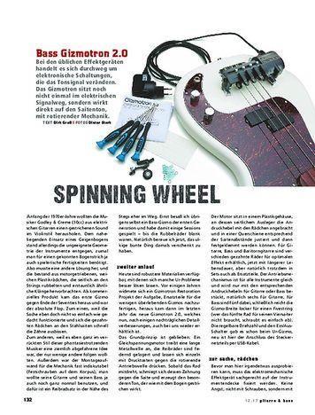 Gitarre & Bass Bass Gizmotron 2.0