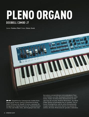 Keyboards DEXIBELL COMBO J7