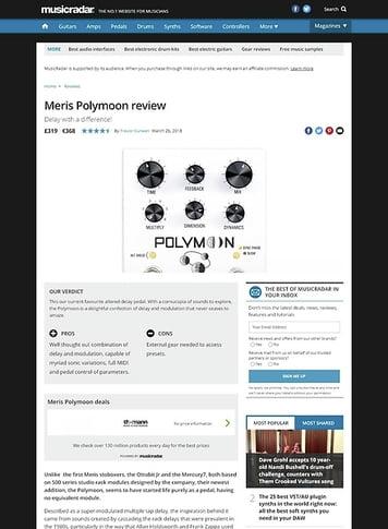 MusicRadar.com Meris Polymoon