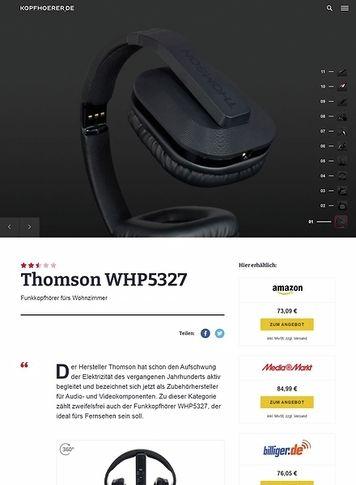 Kopfhoerer.de Thomson WHP5327