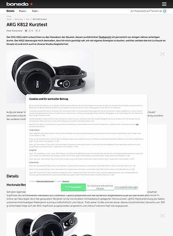 Bonedo.de AKG K812