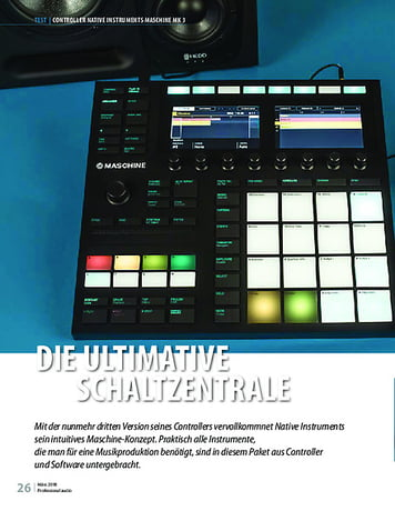 Professional Audio Native Instruments Maschine MK3