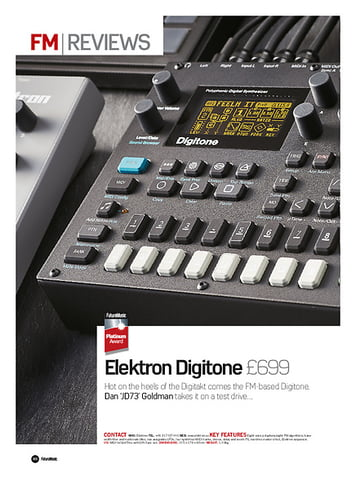 Future Music Elektron Digitone