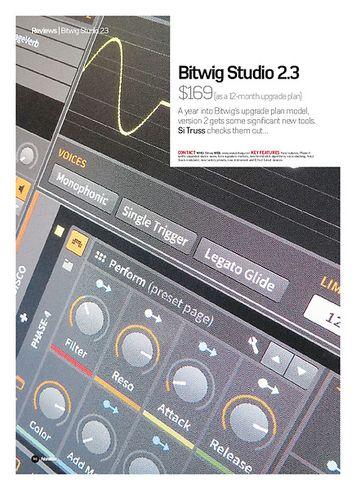Future Music Bitwig Studio 2.3